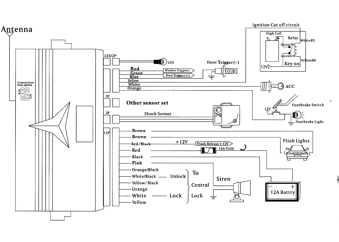 Alarm club323f \u2022 view topic alarm installation vehicle alarm system diagram at gsmx.co